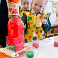 Painting in EYFS