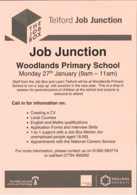 JOB JUNCTION AT WOODLANDS